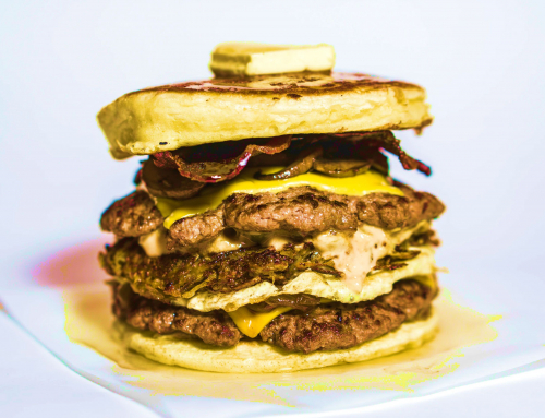 NEW: The Pancake Burger